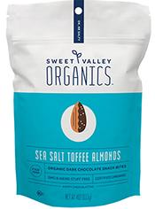 Bag of Sea Salt Toffee Almonds