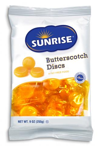 Bag of Butterscotch Discs