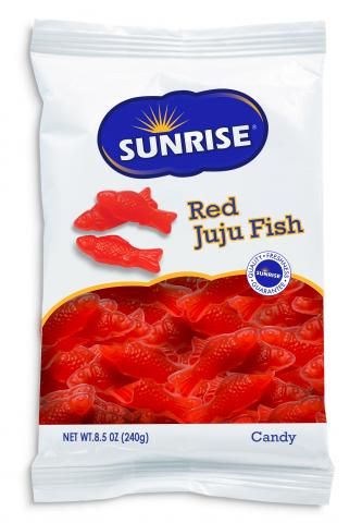 Bag of Red Fish Candy