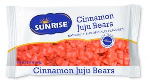 Bag of Cinnamon JuJu Bears