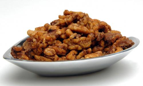 Walnut Pieces, Large, Candied