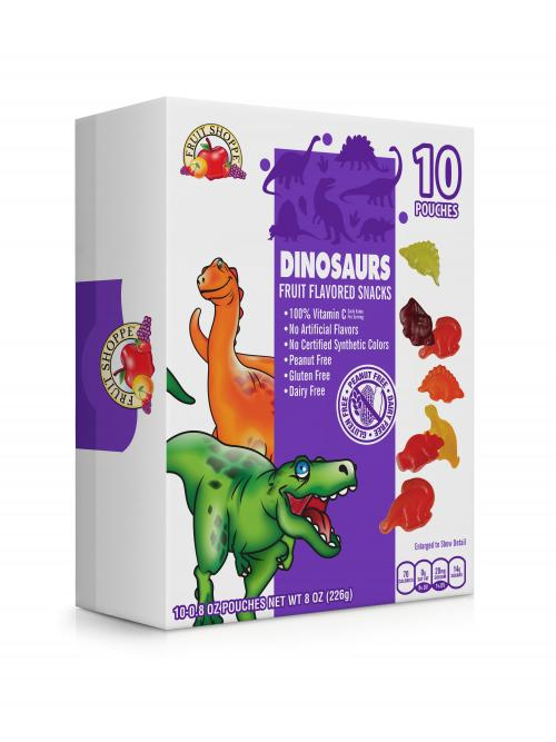 Box of Dinosaur Fruit Snacks